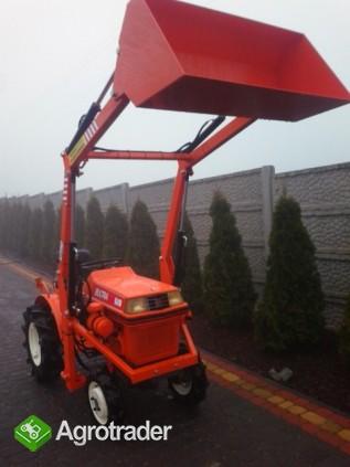 Kubota Bultra B 10  10 KM TUR mini mikro traktor 4x4 Yanmar  - zdjęcie 1