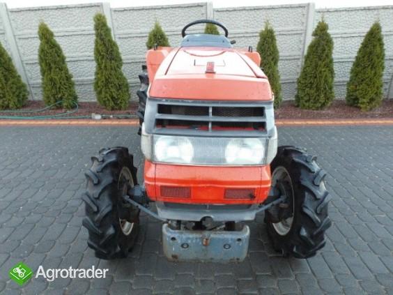 Kubota GL 25   25KM 4x4 wspomaganie rewers mini traktor iseki yanmar   - zdjęcie 3