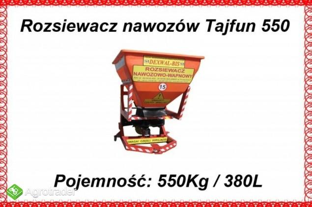 Rozsiewacz sadowniczy Tajfun 850 L / 1200 kg - zdjęcie 1