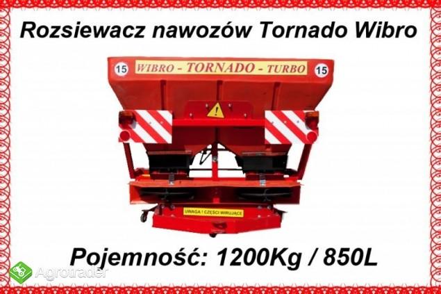 Rozsiewacz nawozów Tornado Duo 850 L / 1200 kg - zdjęcie 1