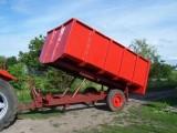 Przyczepa 6 ton jedno-osiowa