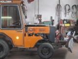 Ciągnik komunalny, miniciągnik Holder P70 + pług