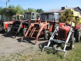 Ciągniki Rolnicze Massey Ferguson, różne modele,