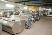 Zbiorniki do mleka od 300L do 25000L