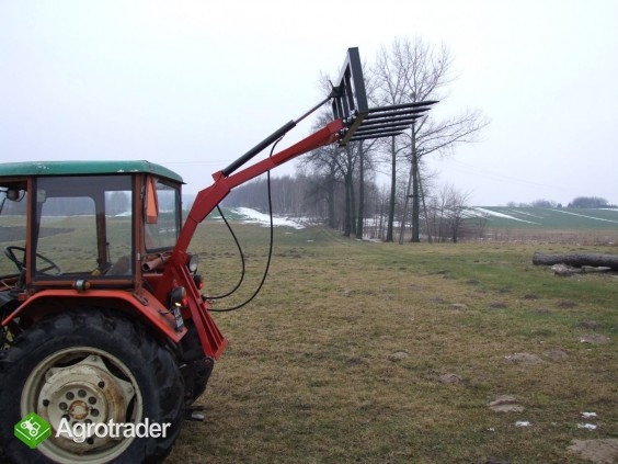 Ładowacz - tur na tył ciągnika NOWY widły - zdjęcie 1