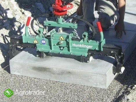 Hydrauliczny chwytak do krawężników - zdjęcie 3
