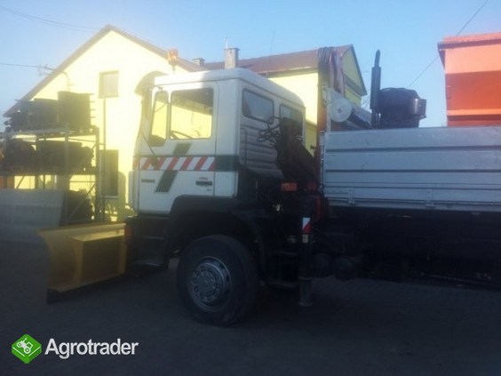 Pługi śnieżne do ciężarówki i ciągnika- producent - zdjęcie 3