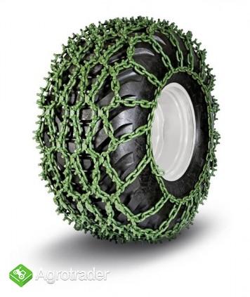 Łańcuchy na koła z kolcami antypoślizgowe