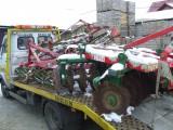 Transport maszyn rolniczych lawetą Mińsk Mazowiecki