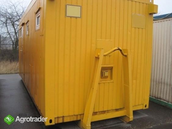 Kontenery sanitarne socjalne do hakowca