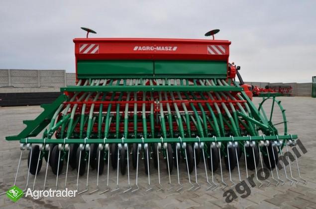 Zestaw siewny agregat uprawowo siewny siewnik zbożowy AGRO-MASZ - zdjęcie 2