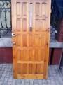 Sprzedam prawe drewniane drzwi zewnętrzne