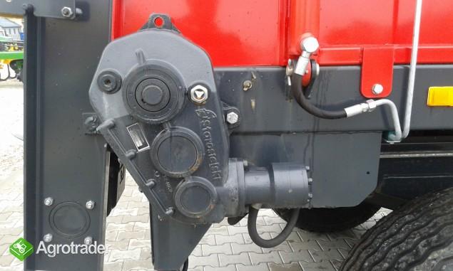 Rozrzutnik obornika N267 Metal-Fach 8t tandem pionowy adapter - zdjęcie 4