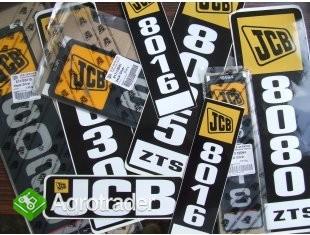 naklejka jcb JCB naklejki jcb 3cx jcb 8018 i inne