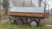 Przyczepa ciągnikowa tzw. łódka, do małego remontu