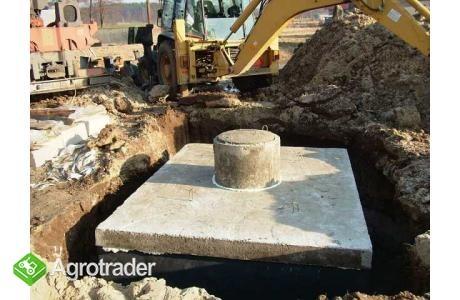 szamba betonowe z atestem i 2-letnią gwarancją, transportem, montażem - zdjęcie 1