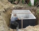zbiorniki na szambo 8m3 betonowe szamba Atest Aprobata ITB