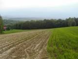 Działka budowlano-rolna 29 km od Krakowa z widokiem na góry