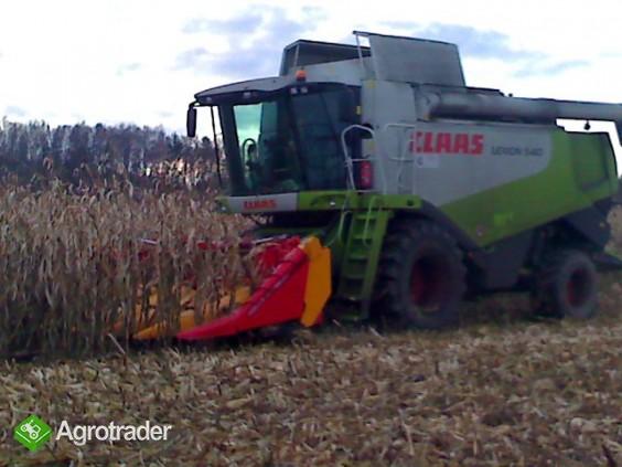 Przystawka do kukurydzy na ziarno EMH 8 składana NOWA Emmarol - zdjęcie 4