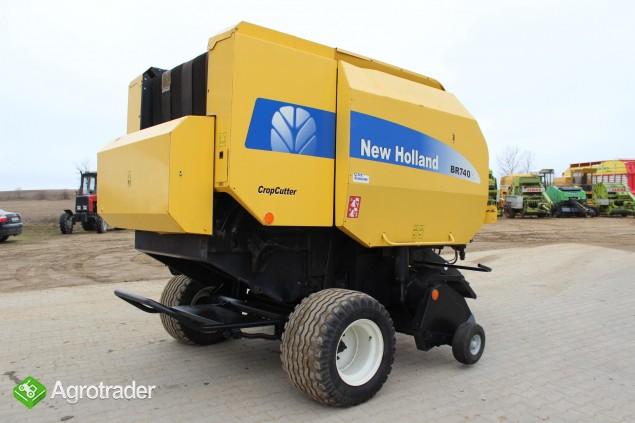 New Holland BR740A prasa - zdjęcie 5