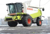 Kombajn zbożowy CLAAS LEXION 570 4x4 rok 2007