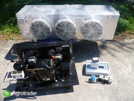 Agregaty chłodnicze chłodnice powietrza sprężarka chłodnicza chłodnia  - zdjęcie 6