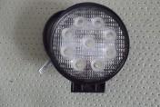 Lampa robocza okrągła 9 LED 12V-24V 9 x 3W