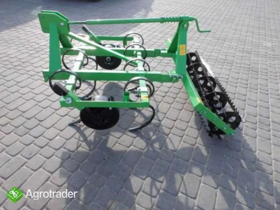 Pług do orania 2- skibowy mini traktorek kubota hinomoto yanmar iseki  - zdjęcie 3