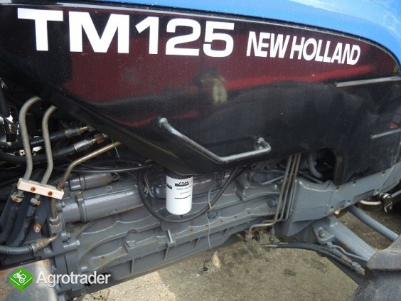 Ciągnik rolniczy  New Holland TM 125 - 2000 ROK - zdjęcie 1