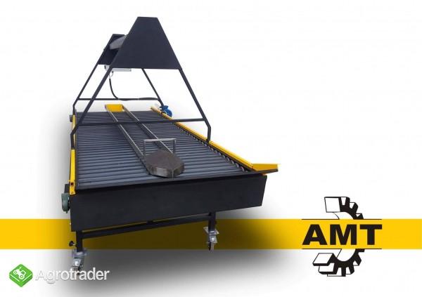 AMT Stół selekcyjny rolkowy, stół przebierczy  - zdjęcie 3