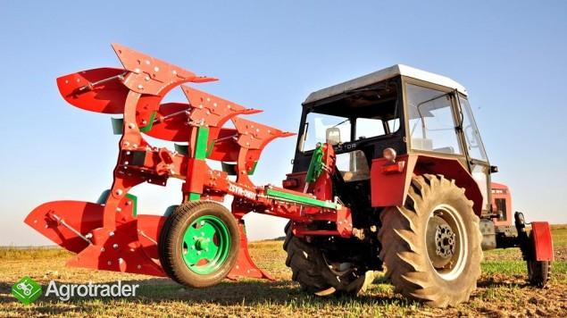 Pług pługi obrotowy obracalny mały Agro-Masz zabezpieczenie zrywalne - zdjęcie 5
