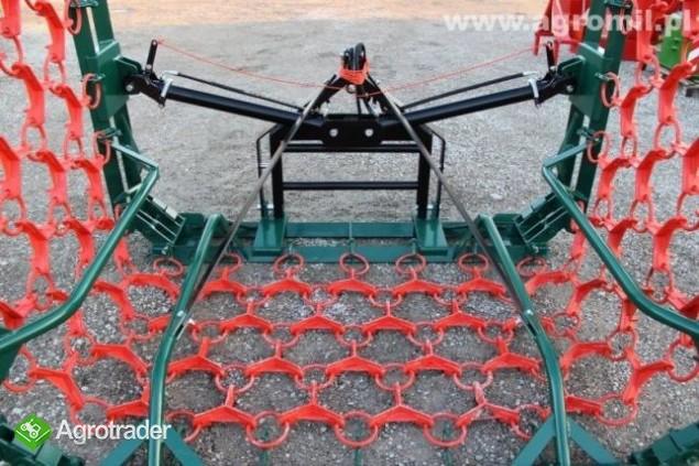Włóki łąkowo-polowe włóka łakowo polowa brona  polska Metel-Technik - zdjęcie 3