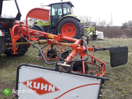 Nowa przetrząsaczo- zgrabiarka Kuhn Hoybob 360 typ VGHS