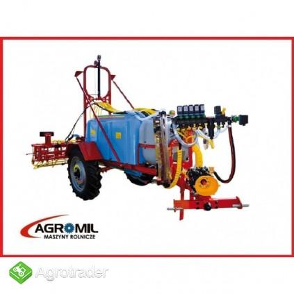 Opryskiwacz ciągany zaczepiany Calabria Biardzki hydrauliczny - zdjęcie 4