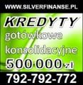 Kredyty gotówkowe dla osób fizycznych! Cała Polska!