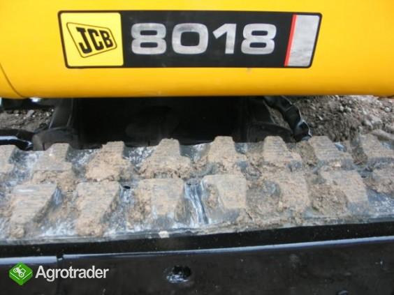 Sprzedam mini koparkę JCB 8018 z 2011 roku - zdjęcie 4