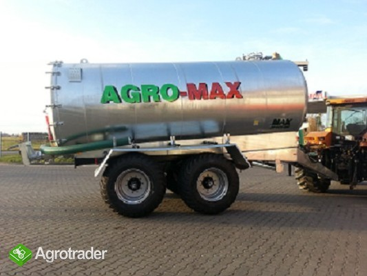 Beczkowóz wóz asenizacyjny tandem agro-max  - zdjęcie 1