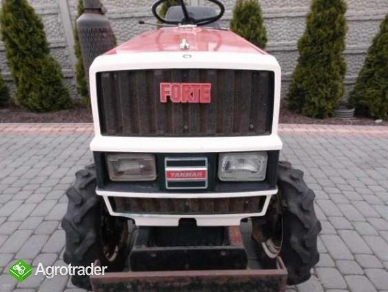 Yanmar F15 15KM 4x4 mini traktorek ogrodniczy kubota iseki - zdjęcie 2