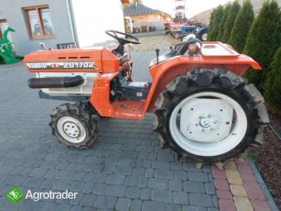 Kubota B1702 17KM 4x4 mini traktor super stan Iseki Yanmar Hinomoto - zdjęcie 1
