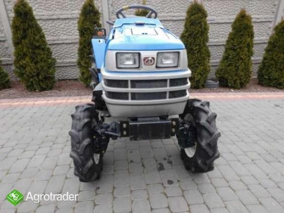 Iseki TM15 15KM 4x4 mini traktor traktorek ładowarka Kubota Yanmar  - zdjęcie 2