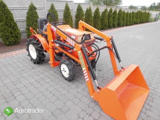 Kubota Bultra B 10 + TUR 4x4 mini traktor traktorek ogrodniczy iseki  - zdjęcie 5