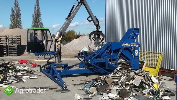 Maszyna do cięcia złomu - prasonożyce mobilne  - zdjęcie 2