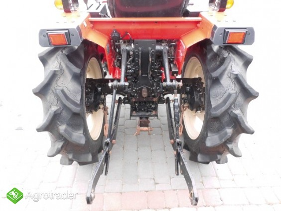 Yanmar F175 super stan mini traktor kubota iseki - zdjęcie 3