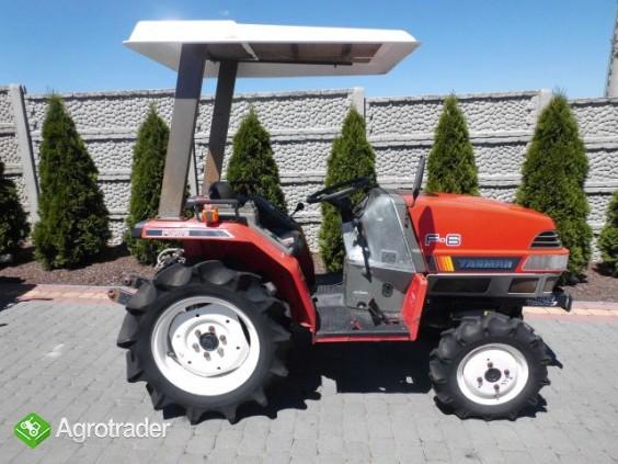 Yanmar F-6 Super stan mini traktor traktorek kubota iseki - zdjęcie 6