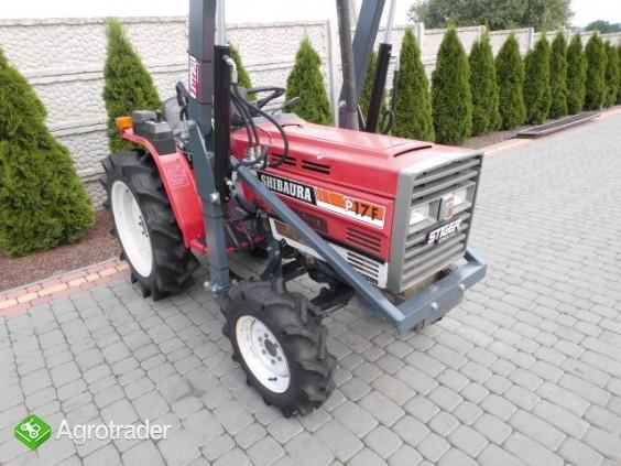 Shibaura P17 4x4 17 PS ładowacz czołowy TUR mini traktor - zdjęcie 1