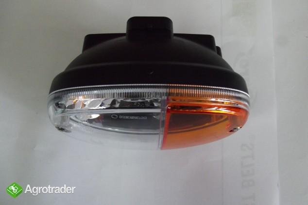 Lampa przednia kierunkowskazu 12V/24V ZETOR, JOHN DEERE, NEW HOLLAND   - zdjęcie 5