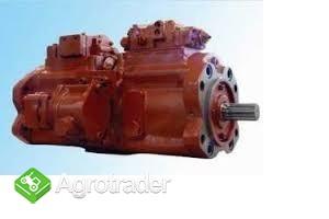 Kawasaki pompa hydrauliczna k3VL200, K3VG63, New Holland E215B - zdjęcie 2