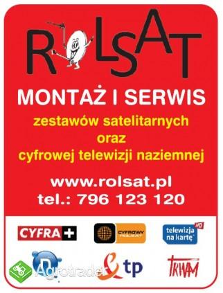MONTAZ serwis zestawow satelitarnych ANTENOWYCH ustawianie ANTEN regul - zdjęcie 2