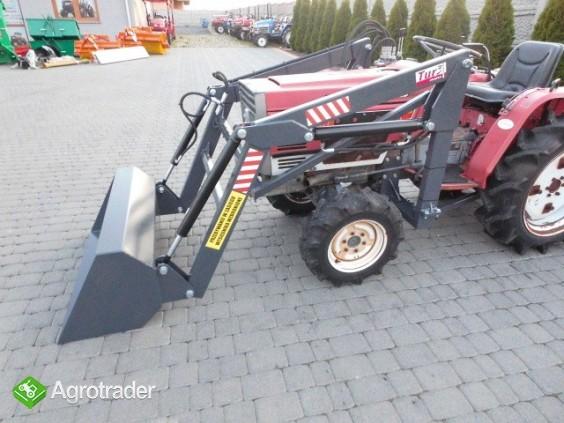 Shibaura P17 4x4 17 PS ładowacz czołowy TUR mini traktor - zdjęcie 2