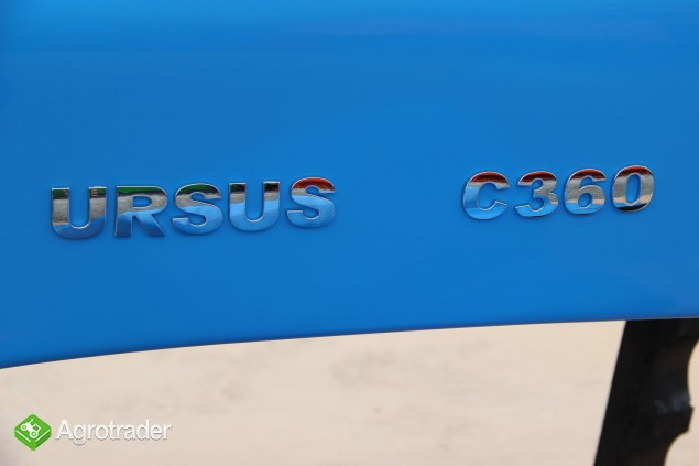 Maska ciągnikowa maska do ciągnika Ursus C360 C-360 niebieska  - zdjęcie 4
